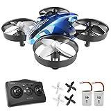 ATOYX Mini Drone, Drones Quadcopter para Niños y Principiantes con Control Remoto, Estabilización de Altitud, Regalo y Juguete, 2 Baterías, AT-66 Neg
