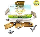 Cuchillas de repuesto para robot cortacésped Gardena® Husqvarna® Automower®, cuchillas (0,75 mm – 3 g) cortacésped Roboter longevidad cuchilla + tornillos