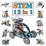 Dreamy Cubby Juguetes Stem para niños de 8 años Kit de Robot Solar 12 en 1 Aprendizaje Educativo Ciencia Construcción de Juguetes con alicates para niños de 8-12 años