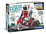 Clementoni-55191 - Evolution Robot - robot para montar y jugar con app a partir de 8 años