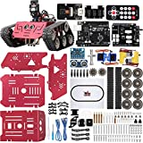 ELEGOO Tank Kit de Coche Robótico Inteligente Compatible con Arduin