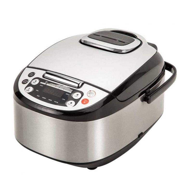 Robot de Cocina Multifunción con Voz, Programable 24 horas, Capacidad de 5 Litros (10 Comensales)