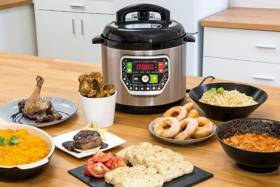 Olla gm modelo d g deluxe cecotec olla express inteligente programable comprar al mejor precio robot olla multifuncion para cocinar www.comprarobot.com